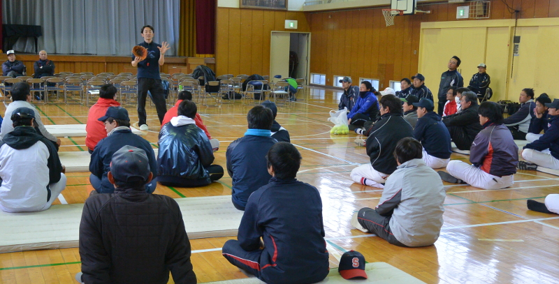 2017年緑区少年野球連盟指導者講習会その4